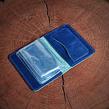 Шкіряна обкладинка для автодокументів, фото 4
