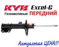 Амортизатор передний Chevrolet Aveo (09.2002-12.2010) Kayaba Excel-G газомасляный левый 333418, фото 1