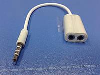 Аудио переходник (сплиттер) на наушники 3,5mm