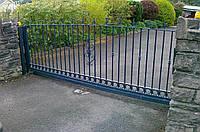 Комплект для установки откатных ворот