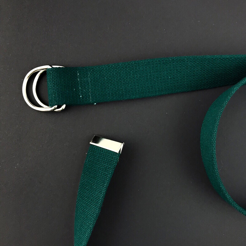 Ремень молодежный от украинского бренда SOX темно-зеленый