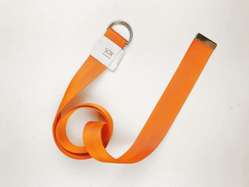Ремінь від SOX з D-подібним кільцем оранжевого кольору