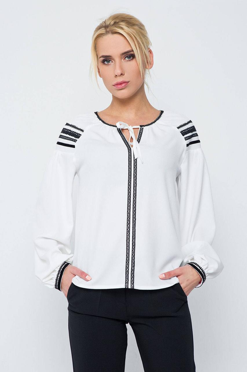 Блуза NENKA 207-С01 M Белый