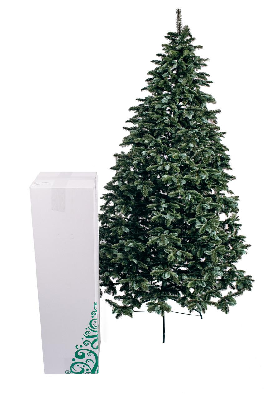 Ялинка штучна лита Канадська елітна зелена 2,3 м