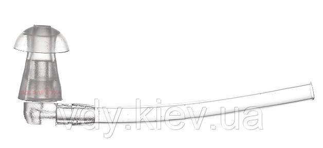 Cтандартный вкладыш для слухового аппарата с переходником, размер L