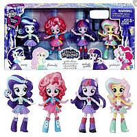 Набір 4 міні Эквестрии Блискуча колекція My Little Pony Equestria Girls Minis Sparkle Collection