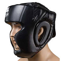 Боксерский шлем закрытый Venum Flex XL черный (VM-475/XLBL), фото 3