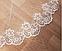 Фата кружевная  цвет белый, айвори, пудра 14001, фото 3