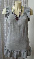 Туника женская трикотаж акрил шерсть бренд Zara р.42-44 5001