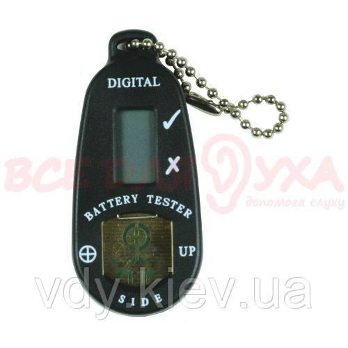 Тестер батарейного заряда цифровой