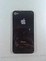 Задняя панель корпуса мобильного телефона iPhone 4S  Black