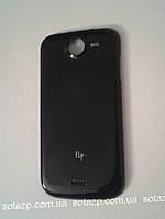 Задняя панель корпуса для мобильного телефона Fly iQ443,  чёрная, оригинал