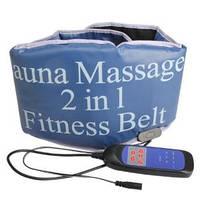 Sauna Massage fitness Belt 2 in 1 Пояс-массажер Сауна Белт 2 в 1