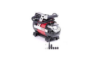 Миникомпрессор автомобільний Intertool - 12В x 7 bar x 30 л/хв (AC-0002), (Оригінал)