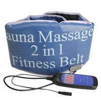 Sauna Massage fitness Belt 2 in 1 Пояс-массажер Сауна Белт 2 в 1
