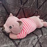 Плед іграшка подушка 3в1 Собачка | Іграшка дитячий плед | Іграшки-Подушки | М'яка іграшка Хаскі Помаранчевий, фото 6