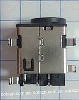 Коннектор зарядки на плату на ноутбук Samsung №7