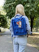 Рюкзак унісекс синього кольору. Рюкзак стильний синій колір.