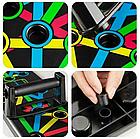 Доска для отжиманий Foldable Push Up Board 14 в 1 + Подарок тканевая фитнес резинка, фото 8