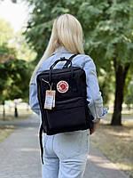 Рюкзак унісекс чорного кольору. Рюкзак стильний чорний колір.