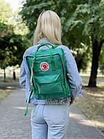 Рюкзак унісекс зеленого кольору. Рюкзак стильний зелений колір.
