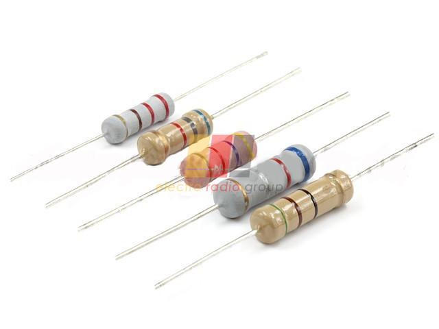 Резистор (+/-5%) 2Вт        18  Ом