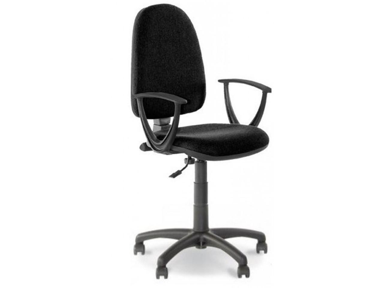 Офисное кресло PRESTIGE II GTP (FI 600) C-11 черное в ткани с подлокотниками от Nowy Styl