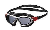 Очки (полумаска) для плавания ARENA ORBIT UNISEX (дымчатые линзы, черная и белая оправа)
