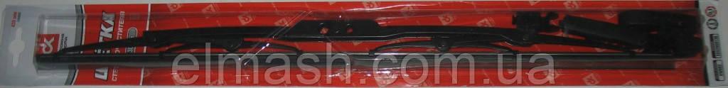 Щетка стеклоочистителя каркас 430 мм Москвич (4 адаптера) <ДК>