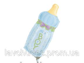 Фольгированный шар бутылка 25 см