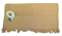 Полотенце махровое однотонное 50х90см, Турция, цвета в ассортименте