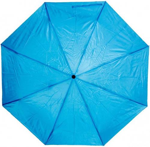 Яркий женский механический зонт 3410-1 голубой
