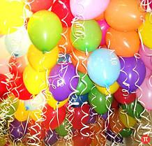 Воздушные шарики латексные
