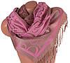 Женский розовый двусторонний палантин из пашмины 172 на 70,5 см ETERNO (ЭТЕРНО) ES0406-8-29