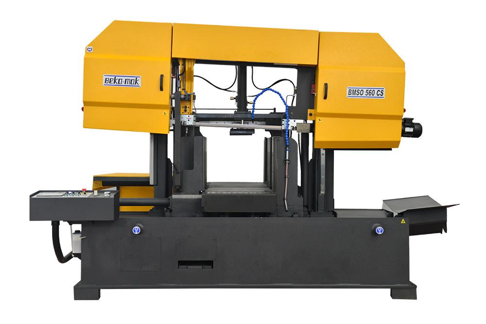 Автоматична двоколонна стрічкова пила по металу Beka-Mak  BMSO-570CS