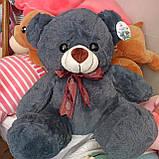 Плед іграшка подушка 3в1 Мишко | Іграшка дитячий плед | Іграшки-Подушки | М'яка іграшка Ведмедик Рожевого кольору, фото 2