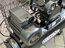 Повітряний ремений компресор Білорусь 50л 3.8кВт 670л/хв 2 поршня, фото 4