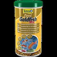 Корм для прудовых рыб Tetra pond Gold Mix 1 л смесь для золотых рыбок