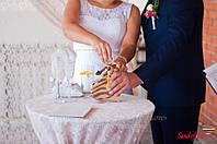 Пісочна церемонія Ірини та Миколи