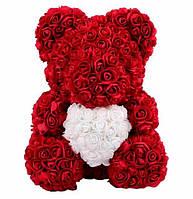 Мишки Тедди из искусственных роз