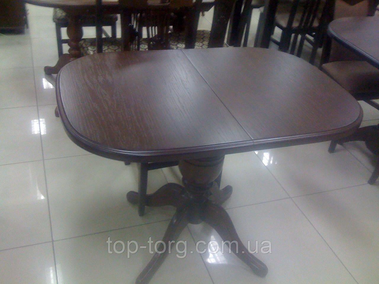Стол раскладной Эмиль темный орех 105(+40)х75см