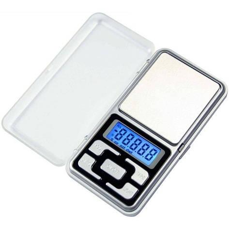 Электронные ювелирные карманные весы MH-100 (100g±0.01), фото 2