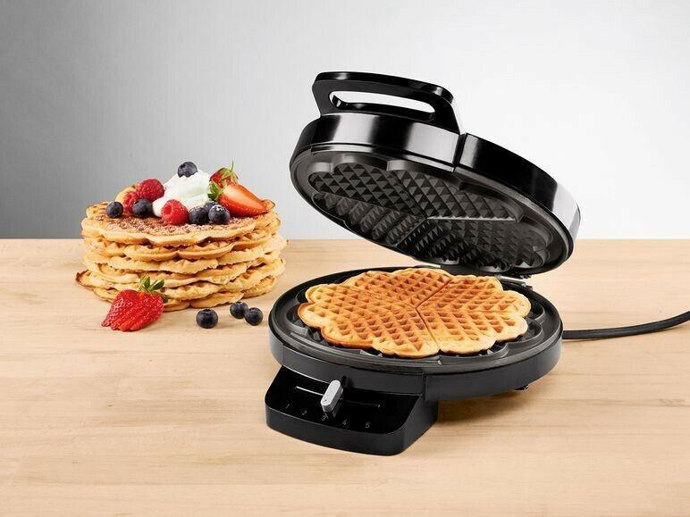 Вафельница круглая с регулировкой Silver Crest Waffle maker 1200W Germany