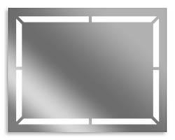 Зеркало для ванной влагостойкое с подсветкой 65 х 80 см ф10