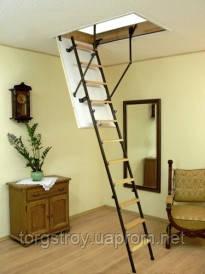 Чердачная лестница Oman SOLID TERMO выдерживает нагрузку 210 кг