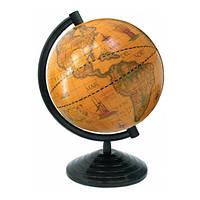 Глобус 16 см старинный