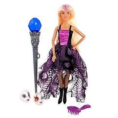 Лялька типу Барбі з чарівною паличкою DEFA 8395-BF на шарнірах (Фіолетовий)