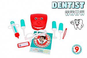 Ігровий набір стоматолог 6641TXK, 9 предметів