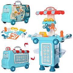 Ігровий набір доктор 11K08 валіза-машина