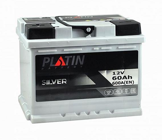 Акумулятор Platin 60A 600En (+ -)